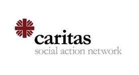 Caritas Social Action Network logo