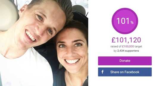 Emmy and Jake's JustGiving page