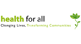 Health For All charity logo
